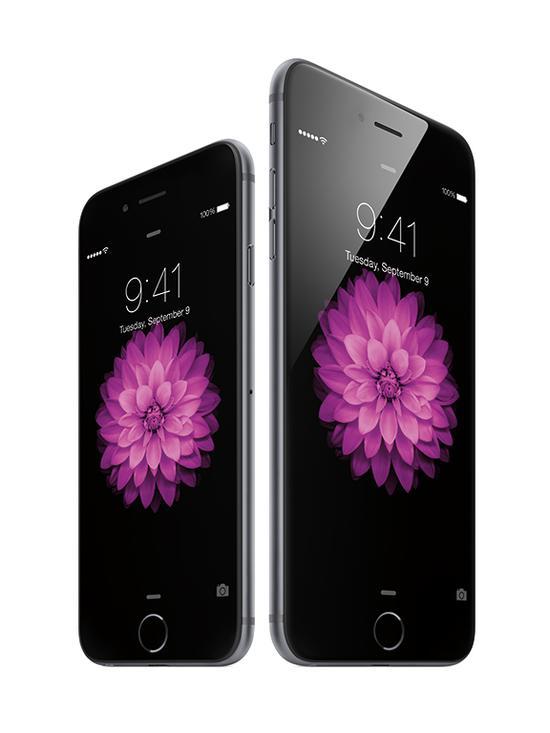 iPhone6手機系列(引自蘋果)
