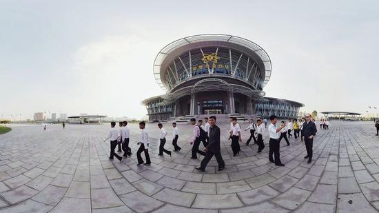朝鮮很封閉?這個外國人居然在平壤拍了段VR影片
