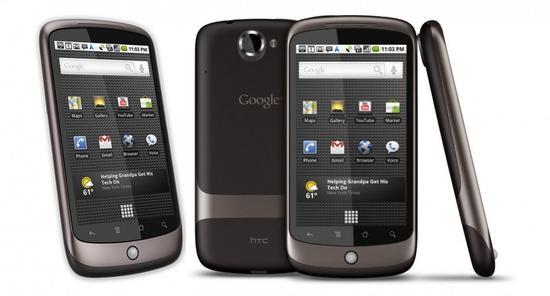 Google Nexus One - 2010年