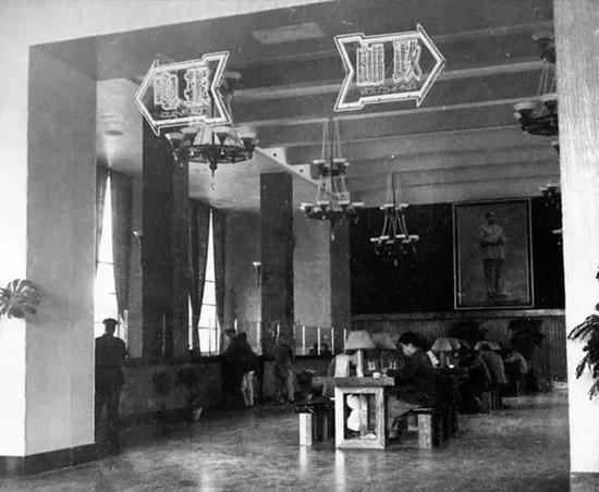 50年代电报大楼交易厅