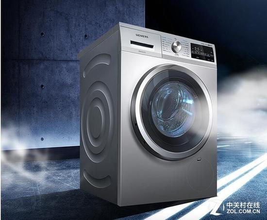 西门子WD14G4681W变频洗衣机