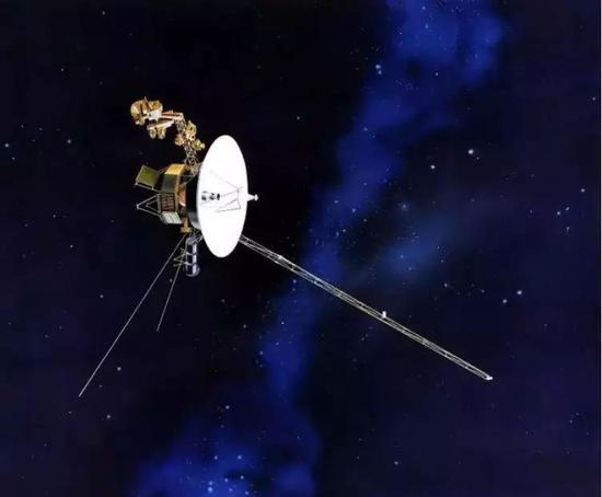 旅行者號探測器外觀。