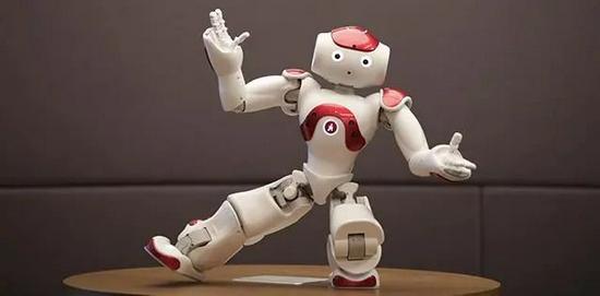 ▲人形机器人NAO