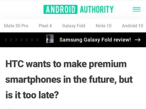 HTC将再推高端手机,能重回智能手机主流市场吗