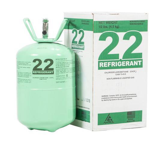 R22冷媒(俗称氟利昂)