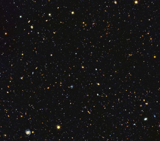 图片来源:NASA, ESA, P. Oesch and M. Montes