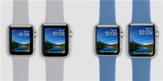 """苹果新专利曝光:有望解决Apple Watch""""烧屏""""问题"""