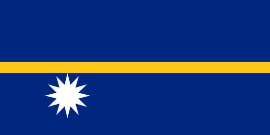 瑙鲁共和国国旗