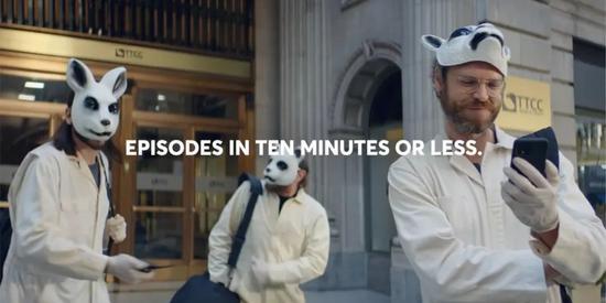 看了Quibi超级碗广告《抢银行》,观众仍然不知道Quibi是什么