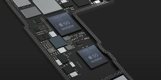 ▲未来iPhone中可能采用的苹果自研5G基带(概念图)