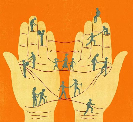 满意的每一个需求, 是为了让公司更挨近完成自己的任务 (Dan Bejar /绘)