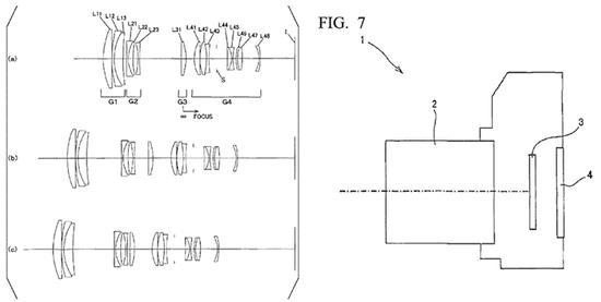 尼康公布55-200mm f/4-5.6全幅无反镜头专利