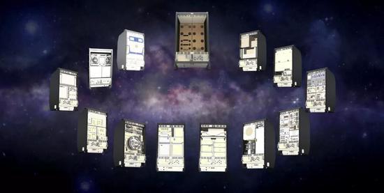 空间站实验柜集合