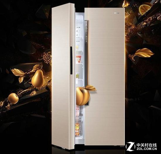 海尔BCD-642WDVMU1对开门冰箱