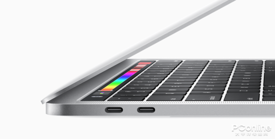 苹果笔记本上的雷电3接口