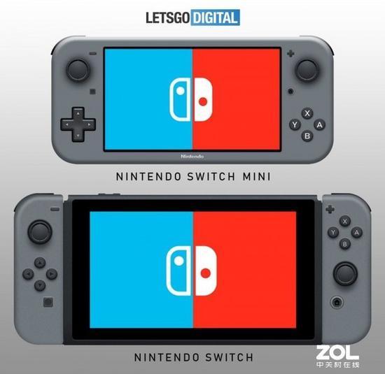 上面那款为Switch Mini