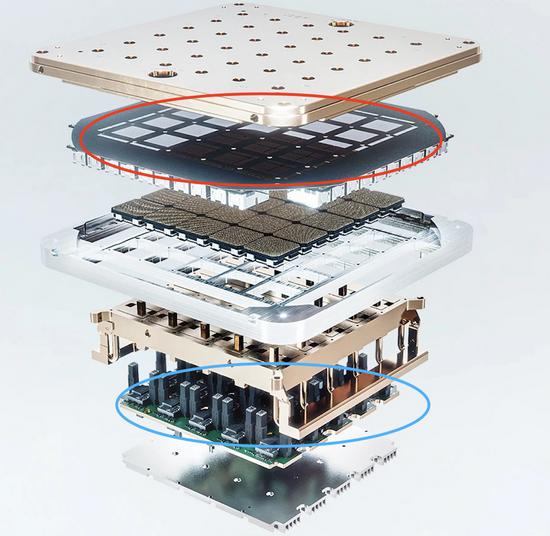 特斯拉AI日曝光的芯片结构 特斯拉