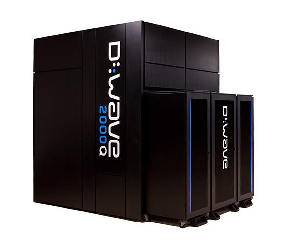 D-Wave 2000Q型量子退火计算机 来自:D-Wave官网