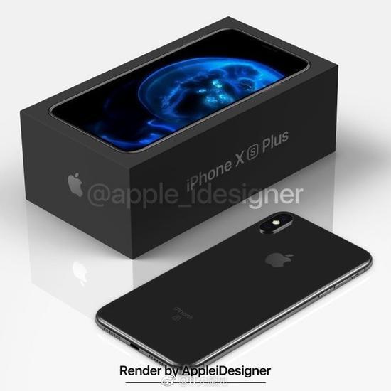 iPhone XS Plus渲染图(图片源自微博)