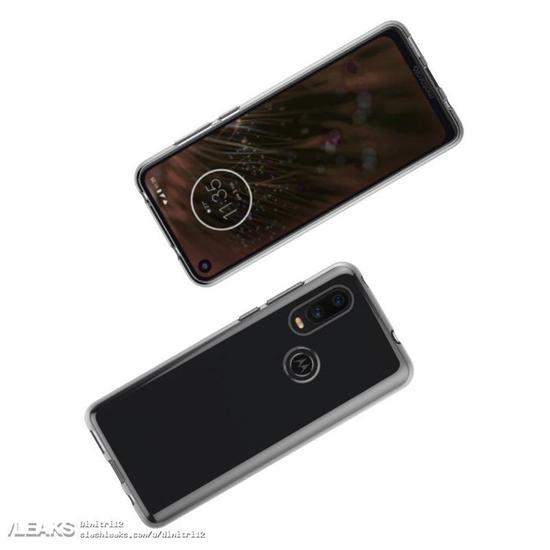 摩托P40/Z4 Play带壳渲染图曝光:前者采用打孔屏