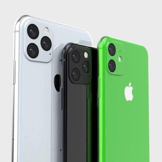 iPhone XI系列和iPhone XR 2渲染图
