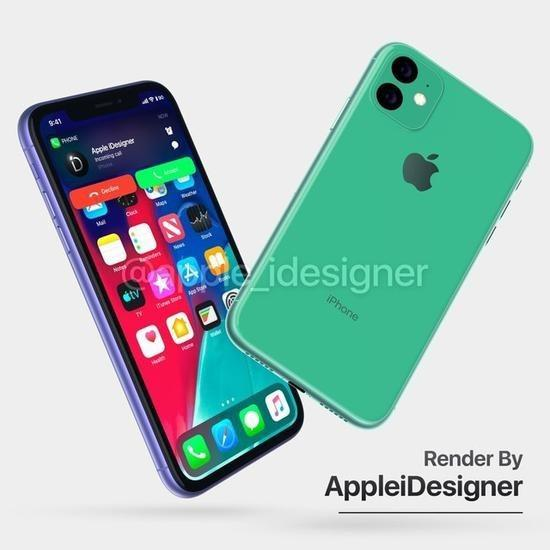 iPhone XR2渲染图