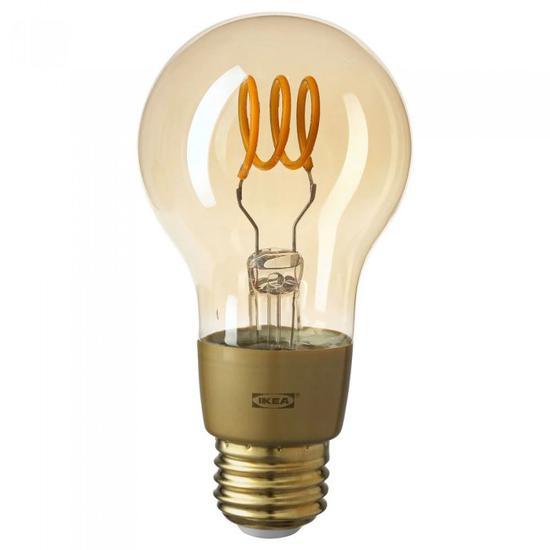 宜家智能灯具推出据用拥有类灯丝设计的特鲁菲E26 LED灯泡