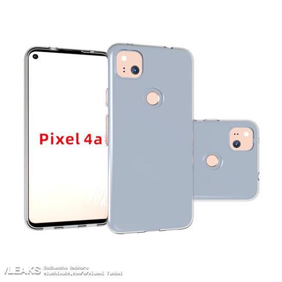 谷歌Pixel 4a带壳渲染图曝光 采用5.7英寸或5.8英寸屏幕预计上半年推出