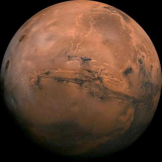 如今的火星。来源:NASA