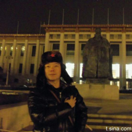 冯鑫的微博头像,曾经也是意气风发。