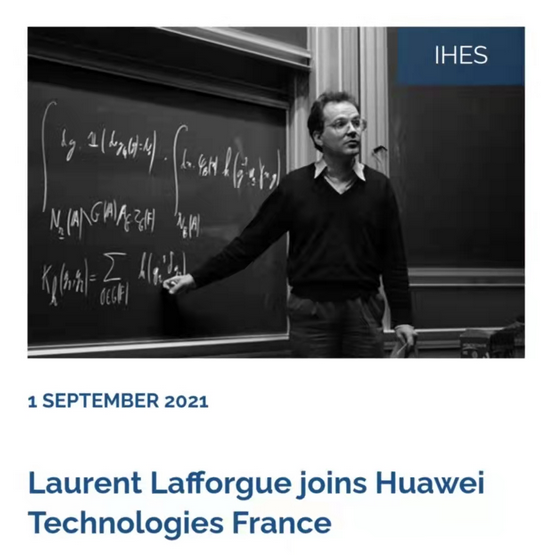 """任正非发话:我们要专门去找""""高鼻子""""!世界级数学家加入华为"""