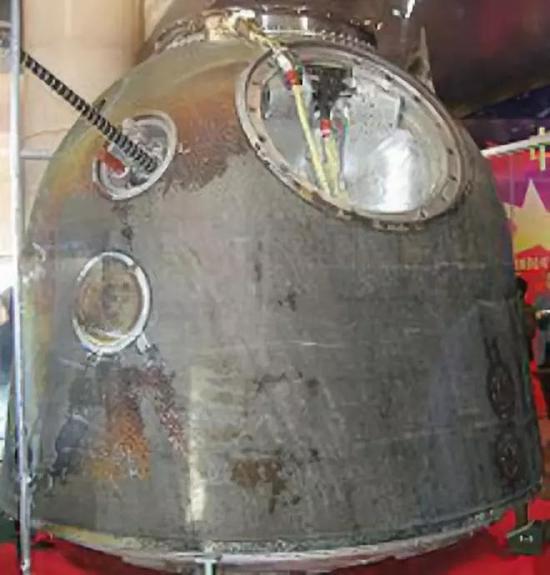 返回地球后的神舟号返回舱(图片来源:https://commons.wikimedia.org/wiki/Shenzhou)