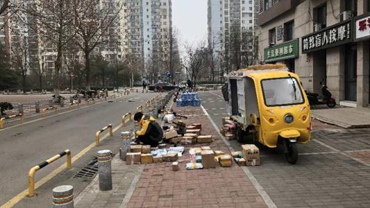 收寄功能恢复疫前水平 北京快递网点全面复工