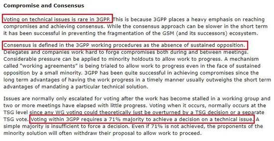 3GPP官网截屏(原文链接:http://www.3gpp.org/wiki/index.php?title=Working%20Culture&lang=en)