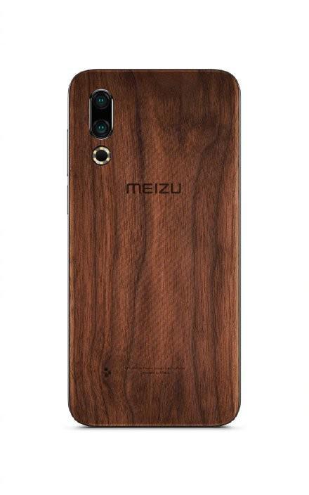 魅族16s Pro要出花梨木的手机壳 前面板采用白色全面屏