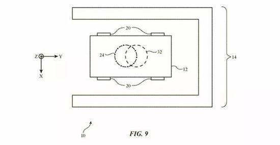 苹果申请电动汽车的无线充电专利 停靠汽车采用转向推进系统