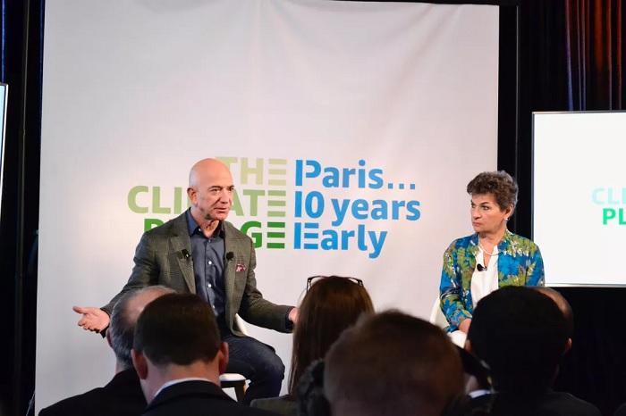 亚马逊承诺到2030年达到100%可再生能源利用