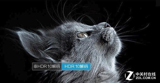 HDR技术可以有效提升画面对比度