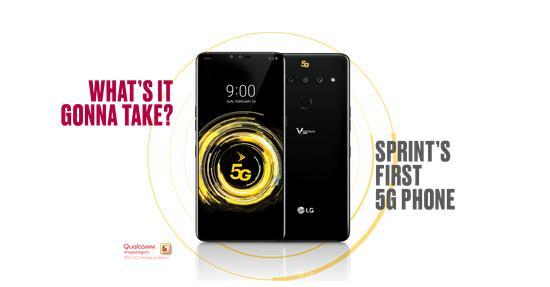 5G 版 LG V50 ThinQ