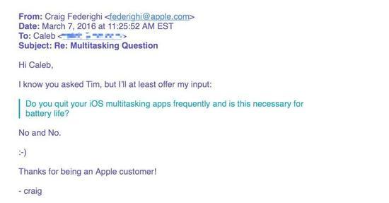 建议iOS用户没必要清后台