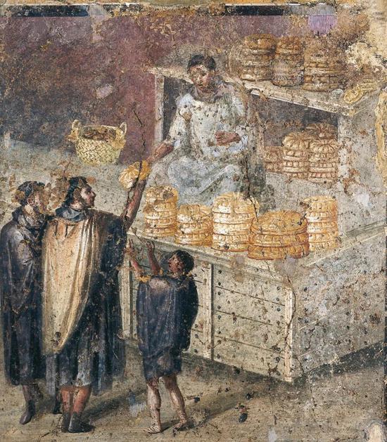 """世界十大古墓之""""庞贝古城""""的墙壁充满了""""垃圾""""……"""
