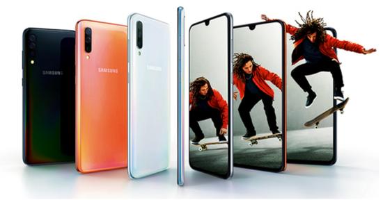 国行三星Galaxy A70开始尝鲜预售:售价2999元起