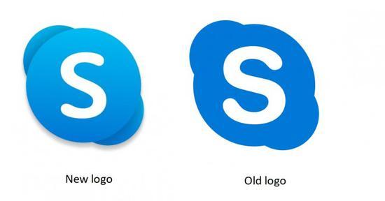 微軟為Skype推新徽標 跟隨Office走向Fluent設計風格