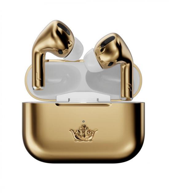 Caviar推出苹果AirPods Pro镀金版 采用18K黄金打造全球限量1个
