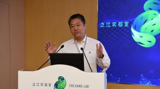 之江实验室首任主任、浙江大学党委副书记朱世强