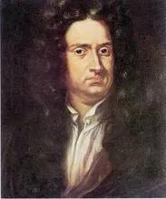 """艾萨克·牛顿(1643年1月4日—1727年3月31日)爵士,百科全书式的""""全才"""",著有《当然形而上学的数学原理》、《光学》等。"""