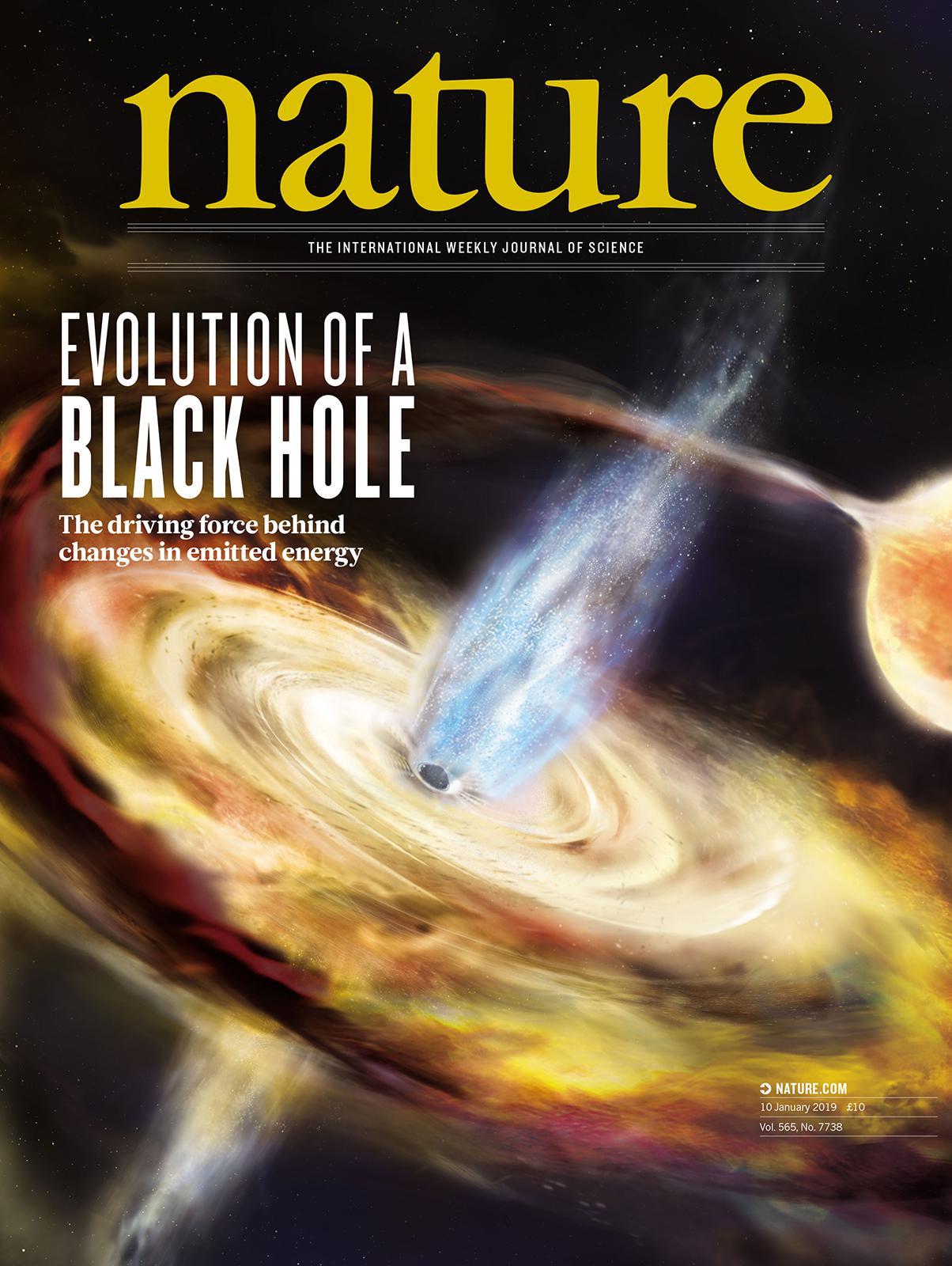 《自然》封面论文
