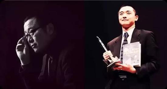 左为刘慈欣、右为刘宇昆