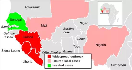 (西非埃博拉疫情状况)
