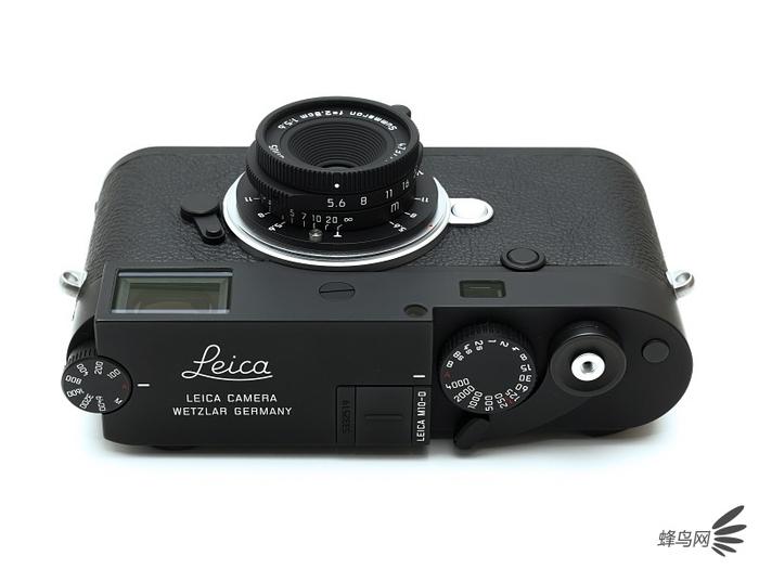 徕卡28mm f/5.6 Summaron-M暗色限量版搭配徕卡M10-D